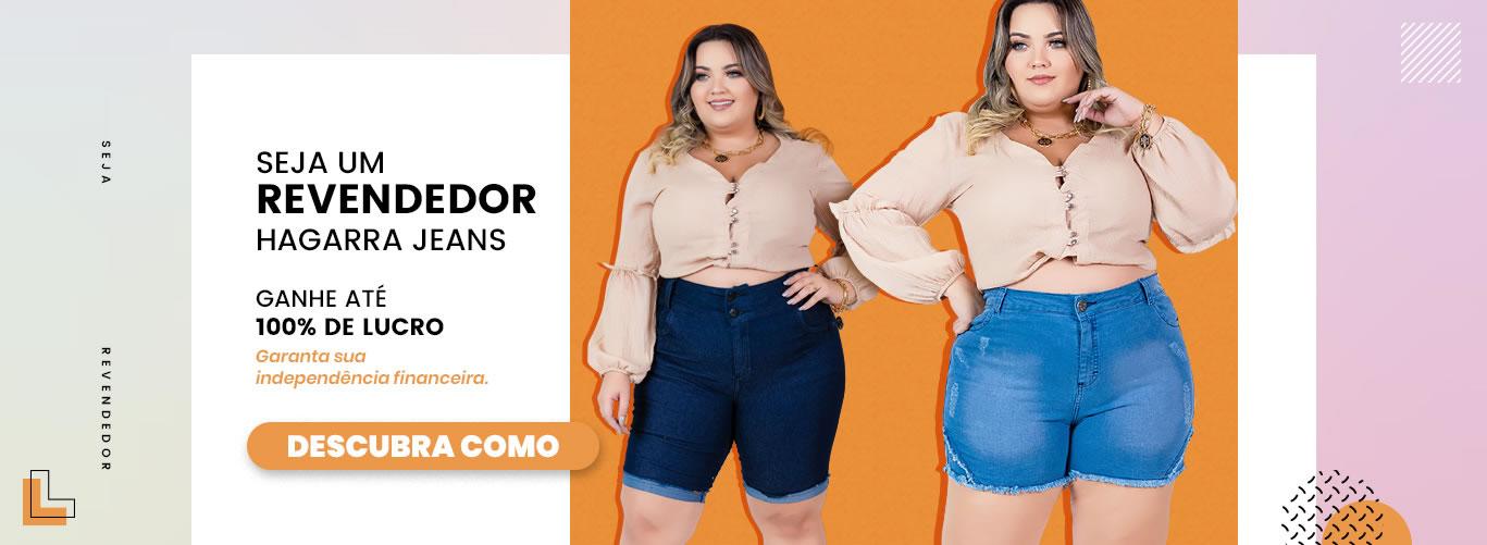 Moda Jeans Plus Size Feminino Atacado para Revenda - Hagarra Jeans