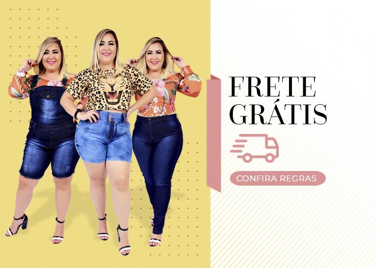 Moda jeans plus size feminino barata - Hagarra Jeans